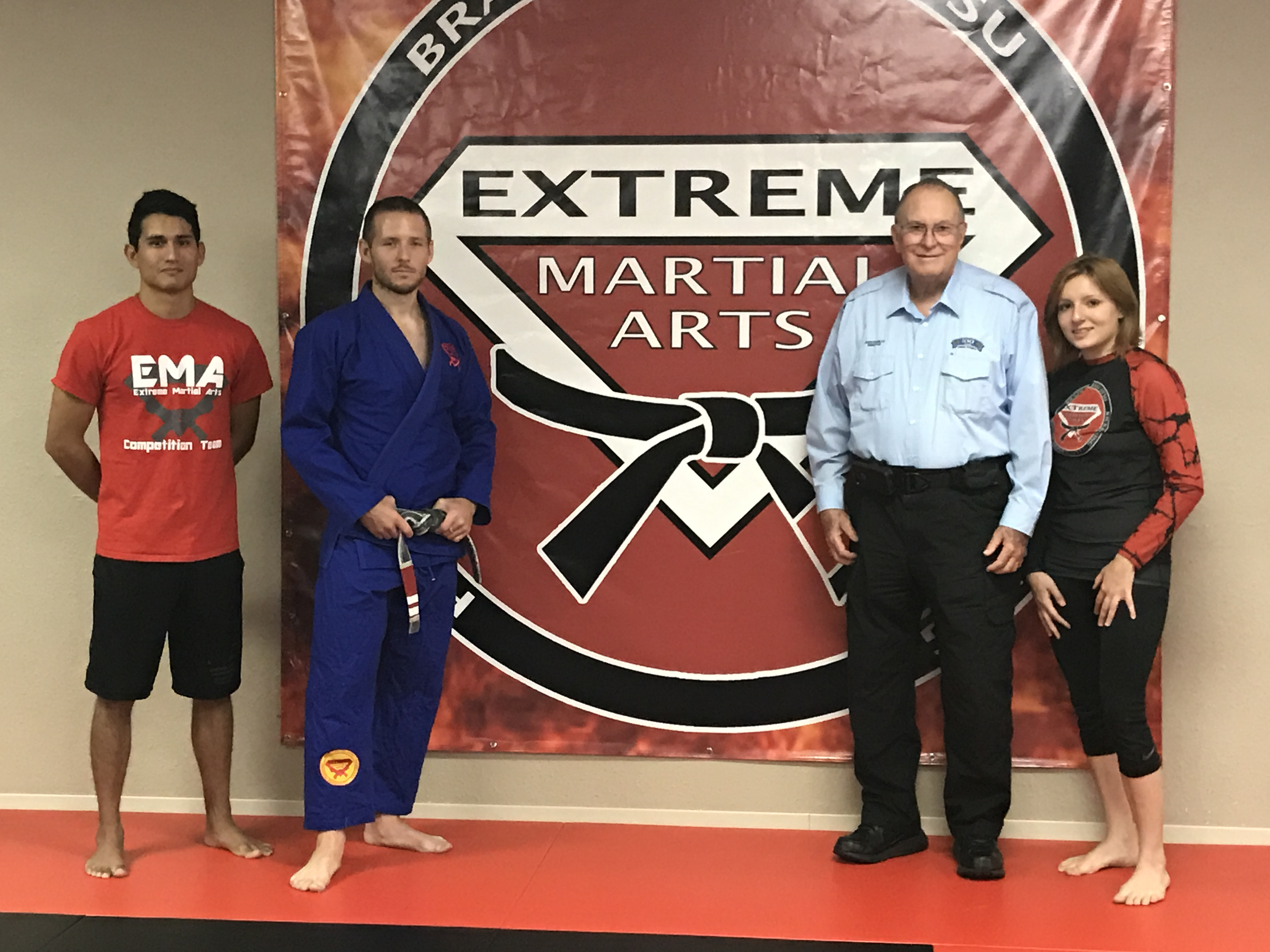 Extreme Martial Arts and the Break A Board Charity Event