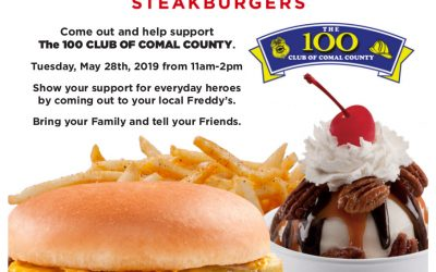 Freddy's Frozen Custard & Steakburgers Showing Support
