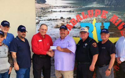Spring Branch Volunteer Fire Department Check Presentation